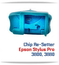 Chip Re-Setter Stylus Pro 3800/3880 Printer Cartridges
