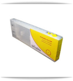 Refillable Yellow Ink Cartridge Epson Stylus Pro 7600, 9600 printer 300ml