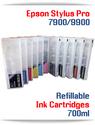 Epson Stylus Pro 7900, 9900 Refillable Ink Cartridges