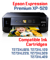 Expression Premium XP-520 Small in One Compatible Ink Cartridge