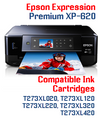 Expression Premium XP-620 Small in One Compatible Ink Cartridge
