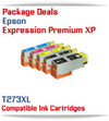 Package Deals Expression Premium XP-520, XP-600, XP-610, XP-620, XP-800, XP-810, XP-820 Small in One Printer Compatible Ink Cartridges