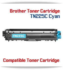 TN225C Cyan Brother Compatible High Yield Toner Cartridge