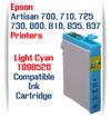 Epson Artisan Printer T098520 Light Cyan Compatible Ink Cartridge
