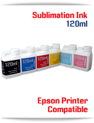 120ml Refill Epson Desktop compatible Sublimation Ink
