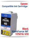 BLACK T252XL120 Epson WorkForce WF compatible ink cartridge