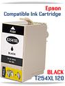 BLACK T254XL120 Epson WorkForce WF compatible ink cartridge