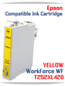 YELLOW T252XL420 Epson WorkForce WF compatible ink cartridge