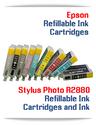 Refillable Ink Cartridges Epson Stylus Photo R2880 Printer