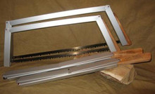 Bob&#039;s 21&quot; Quick Buck saw--tears through wood like a pro.