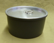 0.75 L hard-anodized aluminum pot with lid