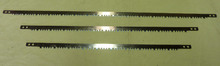 These raker replacement blades are top quality and used for hard woods, damp and even wet wood.