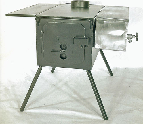 Loading zoom - Two Dog DX Camp Wood Fired Stove--A Great Portable Stove For Your