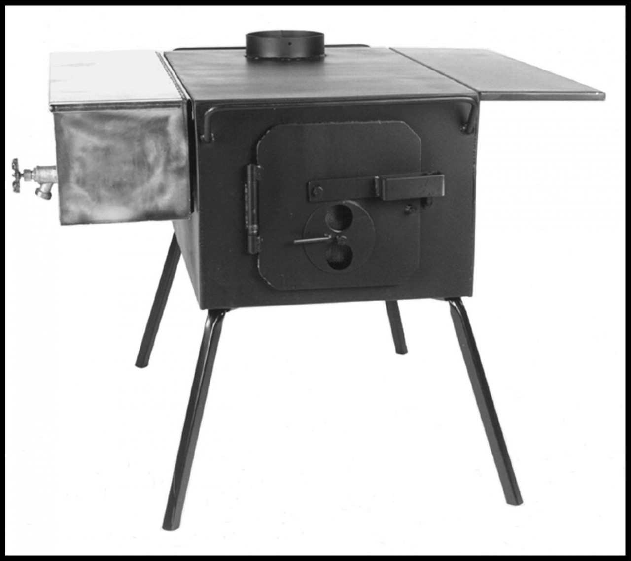 Loading zoom - Five Dog DX Camp Wood Stove Is A Great Camp Stove For Your Wall Or