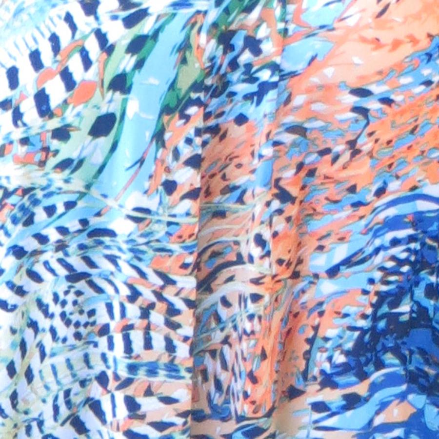 Dream Dance By Line Art Inc : Plumes short wrap dress dream dance by line art inc