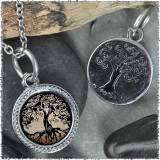 "Tree of Life Brown ""Tree"" Pendant"