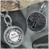"Word Phrases ""Tree"" Pendant"