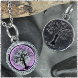 "Tree of Life Purple ""Tree"" Pendant"