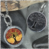 "Tree of Life Yellow ""Tree"" Pendant"