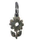 Daisy Charm (Stainless Steel)