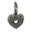 Lotus Charm (Stainless Steel)
