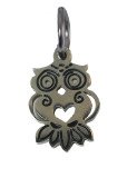 Owl Charm (Stainless Steel)