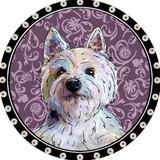 Westie Pendant (purple)