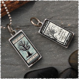 Tree of Life Revesible Rectangular Pendant