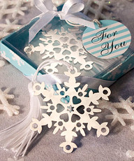 Snowflake Bookmark Favors (as low as $ 1.15)