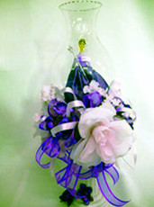 Quinceanera decorated Chimney Centerpiece - Available in Many Colors