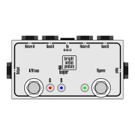True Bypass Looper – Dual AB Looper Layout