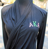 Alpha Kappa Alpha Black Wrap