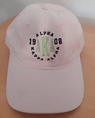 AKA Pink Baseball Hat