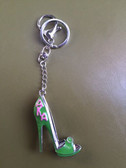AKA Green Shoe Key Chain