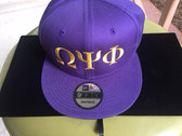 Omega Psi Phi Purple Baseball Hat
