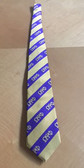Omega Psi Phi Purple and Gold Neck Tie