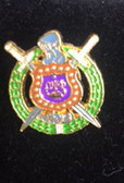Omega Psi Phi - Shield Lapel Pin
