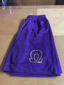 Omega Psi Phi Purple Shorts