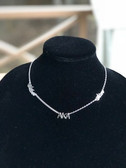 Alpha Kappa Alpha Sterling Silver - Silver Star Necklace