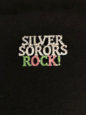AKA Silver Sorors Rock Lapel Pin