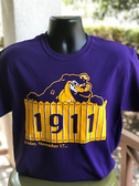 Omega Psi Phi - Dog and Fence Shirt