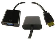 HDMI TO VGA Adaptor HDMI Digital Signal - VGA Analogue Signal