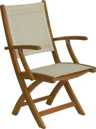 Aqua Sol Folding Arm Chair