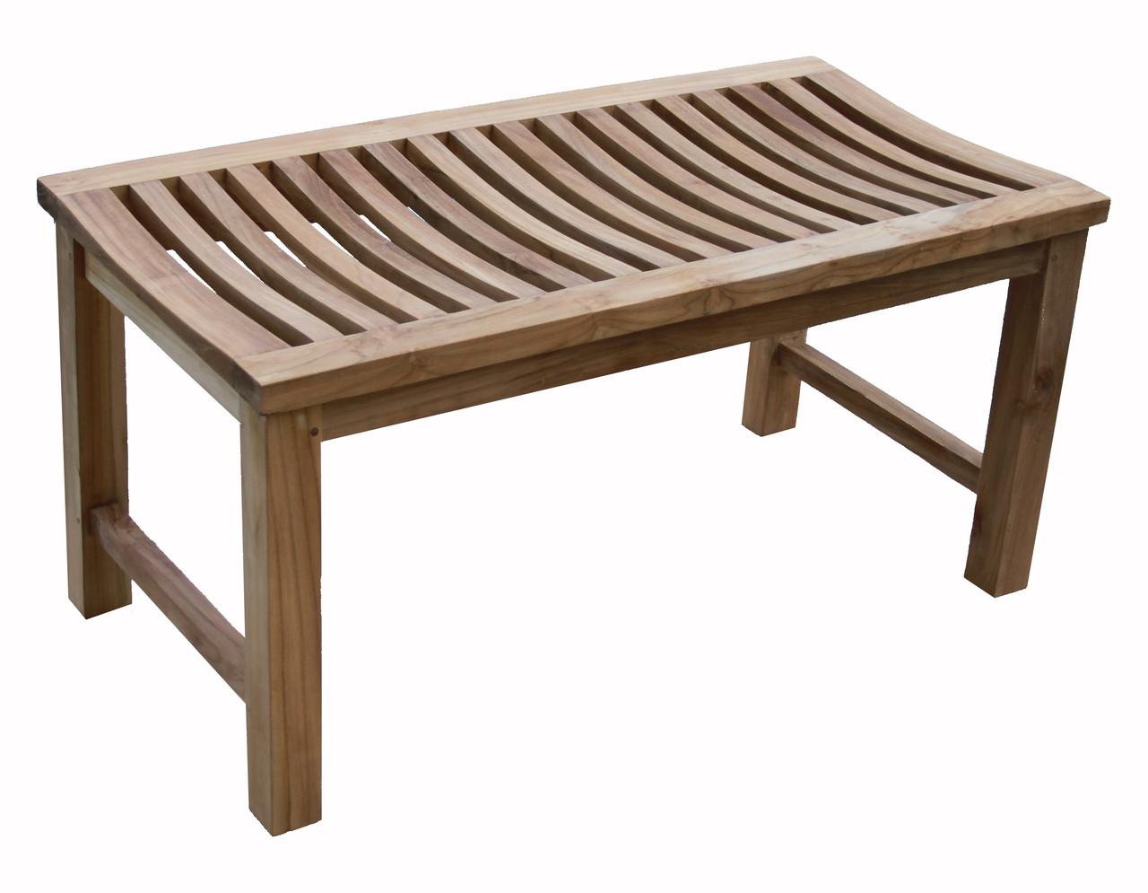 aqua stratus 36 backless indoor outdoor bench shower stool
