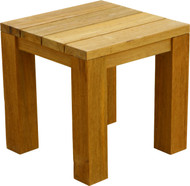Aqua Vineyard Recycled Side Table