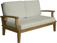 Aqua Croix Two-Seat Loveseat