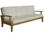 Aqua Croix Three-Seat Sofa