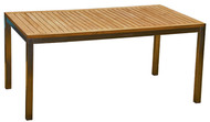 "Aqua Blend 63"" x 35.5"" Dining Table"