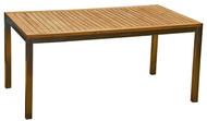 "Aqua Blend 63"" x 35.5"" Dining Table"