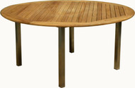 "Aqua Blend 63"" Round Dining Table"
